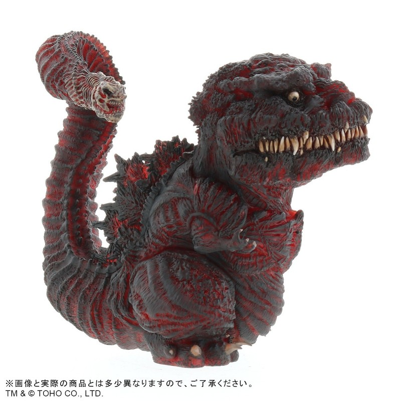 New DefoReal Shin Godzilla 2016 Clear Red Wonder Festival Figure limited A