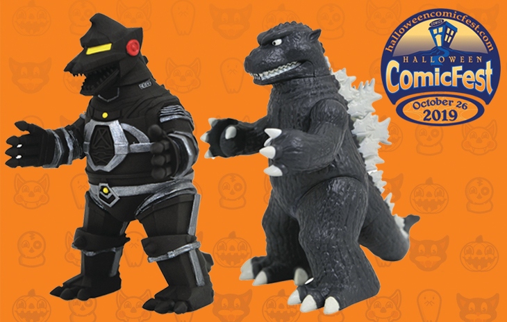 Godzilla Toho Collectibles Kaiju Battle